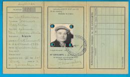 Kaart Van Eenzelvigheid - België St Lenaarts - Nr 181 Joannes Baptista Anthonissen - Historische Documenten