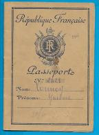 Passeport - République Française - < 1947 - Historische Documenten