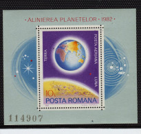 Romania, 1981, Space - Space