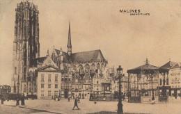 CPA - Malines - Grand'place - Mechelen