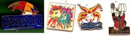 Carnaval_Dunkerque_Vichy_Salers_Mouscron_1 Pin's Au Choix Sur 4 Présentés_Envoi Gratuit France - Cities