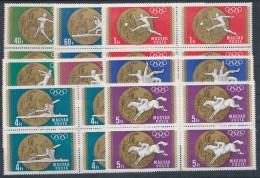 1969. Olympic Medalists (III.) - Mexikó - Block Of 4 :) - Unused Stamps