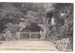 LA SALLE-DE-VIHIERS. - Communauté -  Grotte De N-D. De Lourdes - Other Municipalities