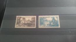 LOT 271587 TIMBRE DE FRANCE NEUF** N�497/498 VALEUR 14,35 EUROS LUXE
