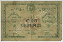 Chambre De Commerce D'Elbeuf 50 Centimes. Sans Date. - Chamber Of Commerce