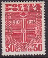 POLAND 1933 Fi 263 Mint Hinged - Ongebruikt