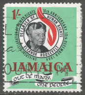 Jamaica. 1964 16th Anniv Of Declaration Of Human Rights. 1/- Used. SG 239 - Jamaica (1962-...)