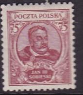 POLAND 1930 Sobieski Fi 245 Mint Hinged - Ongebruikt