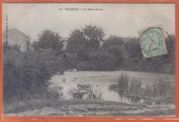 Carte Postale 78.  Trappes La Mare Savin  Trés Beau Plan - Trappes