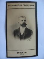 André BROUILLET Né à Charroux     ( Peintre ) - Ancienne Photo Bromure - Collection  Felix POTIN - Anciennes (Av. 1900)