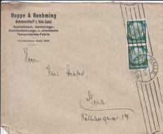 Deutsches Reich - (Brief)umschlag Halle - Hoppe & Roehming 1933 - Briefe U. Dokumente