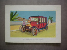 1911-LEON-BOLLEE,16 CHEVAUX 70 Km/h LABORATOIRES LEMATTE ET BOINOT PARIS 9e - Advertising