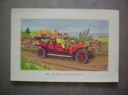 1907- LA BUIRE 25 CHEVAUX 70 Km/h LABORATOIRES LEMATTE ET BOINOT PARIS 9e - Advertising