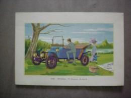 1909- DELAHAYE 12 CHEVAUX 70 Km/h LABORATOIRES LEMATTE ET BOINOT PARIS 9e - Advertising