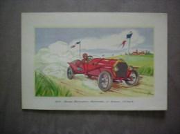 1912- SOCIETE PIEMONTAISE AUTOMOBILE 25 CHEVAUX 133 Km/h LABORATOIRES LEMATTE ET BOINOT PARIS 9e - Advertising