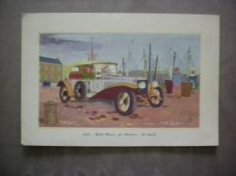 1913- ROLLS-ROYCE 40 CHEVAUX 105 Km/h LABORATOIRES LEMATTE ET BOINOT PARIS 9e - Advertising