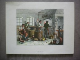 LE CHAUDRONNIER SERIE ARTISANAT N°11 LABORATOIRE LEO PARIS 9e - Publicidad