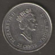 CANADA 25 CENTS 1999 JUNE - Canada