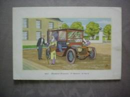 1908-PANHARD-LEVASSOR 18 CHEVAUX 70 Km/h LABORATOIRES LEMATTE ET BOINOT - Advertising