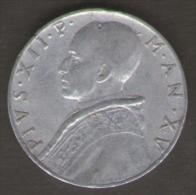 VATICANO 10 LIRE 1953 - Vaticano