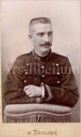 Photo-carte De Visite / CDV / Homme / Man / Militaire / Military / Photo H. Thillier / Angers - Ancianas (antes De 1900)