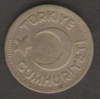 TURCHIA 25 KURUS 1945 - Turchia