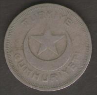 TURCHIA 10 KURUS 1936 - Turchia