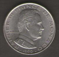 MONACO 1 FRANC 1960 - Monaco