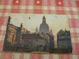 Dresden - Alt-Dresden Von Der Terrasse Mit Frauenkirche Und Rathausturm, Germany - Dresden