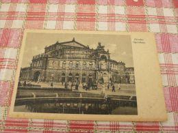 Dresden - Opernhaus, Germany - Dresden