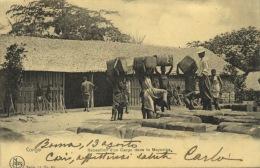 250 - 1915 Boma Congo - Travelled - Congo Belga - Altri