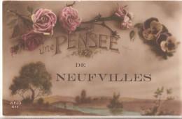 Une Pensée  De Neufvilles -- 1919 - Soignies