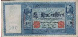 ALEMANIA - GERMANY - 100 Mark 1910 MBC  P-42 - [ 2] 1871-1918 : Imperio Alemán