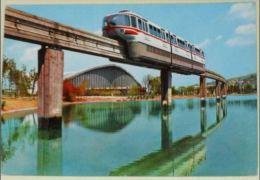 TORINO - Esposizione Italia 61 - Il Grande Lago E Il Treno Monorotaia - Monorail - 1962 - Italia