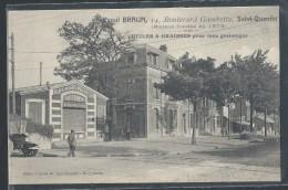 CPA 02 - Saint-Quentin, Raoul Braun - 14 Boulevard Gambetta - Maison Fondée En 1874 - Saint Quentin