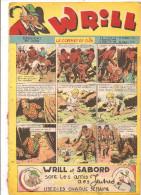 WRILL N°166 Du 2 Septembre 1948 4 ème Année Le Coffret De Cuir Hebdomadaire Des Jeunes - Magazines Et Périodiques