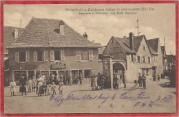 68 - BENNWEIER - BENNWIHR - Wirtschaft Zum Goldenen Adler - Spezerei - Bäckerei - Inh. Math. BAECHTEL - Cachet Feldpost - Francia
