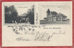 68 - GRUSS Aus BENNWEIER - BENNWIHR - Restaurant OBRECHT - Station - Gare - Bahnhof - Francia