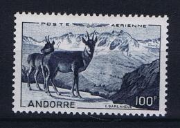 ANDORRE Michel  141 MH/*  Avec Charnière - Poste Aérienne