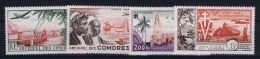 COMORES   Yv  AE Nr 1 - 4 MH/* Avec Charniere 1962 - Komoren (1950-1975)