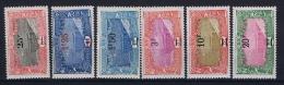 COTE DES SOMALIS  Yv Nr 116 - 121  MH/* Avec Charnierre - Unused Stamps