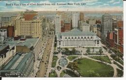 Carte Postale  Etats Unis  : Bird's Eye View Of 42nd Street 6th Avenue , New York City - Multi-vues, Vues Panoramiques