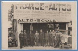 94 - VINCENNES --  France Auto - Carte Photo - RARE - Vincennes