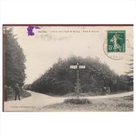 Sarthe  Entrée De La Forêt De Bercey   Rond De La Lune - France