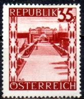 AUSTRIA 1945 Views - 35g  - Belvedere Palace, Vienna  MH - 1945-60 Neufs