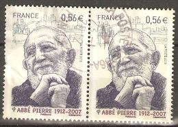 Francia 2010 Yvert  4435 PAREJA USADO - France