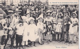 Carte 1910 Souvenir De La Cavalcade De NORT SUR ERDRE - Nort Sur Erdre
