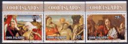 COOK ISLANDS 1978 SG #588-590 Compl.set VF Used Easter - Cook Islands