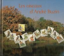 Les Oiseaux D´André BUZIN,livre De La Poste-55 Pages+24timbres Neufs-descriptifs Des Oiseaux - Collections