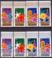 COOK ISLANDS 1979 SG #659-666 Compl.set VF Used Christmas - Cook Islands